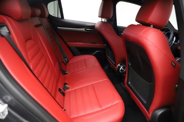 New 2021 Alfa Romeo Stelvio Ti Sport Q4 for sale $56,150 at Pagani of Greenwich in Greenwich CT 06830 26