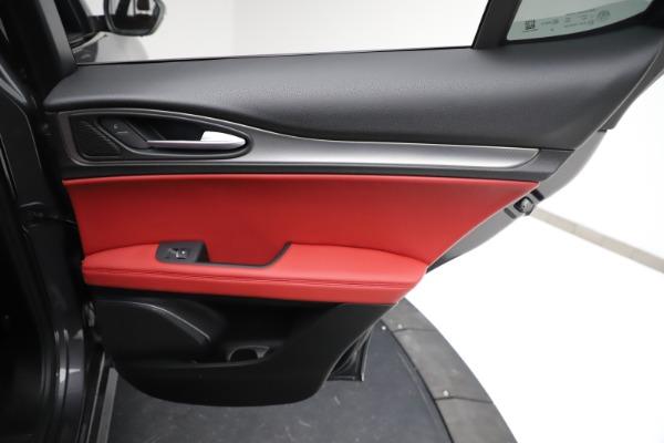New 2021 Alfa Romeo Stelvio Ti Sport Q4 for sale $56,150 at Pagani of Greenwich in Greenwich CT 06830 27