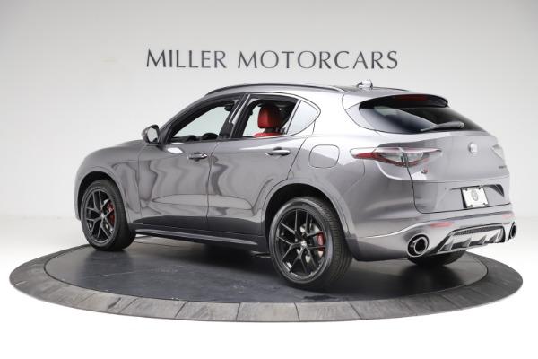 New 2021 Alfa Romeo Stelvio Ti Sport Q4 for sale $56,150 at Pagani of Greenwich in Greenwich CT 06830 4