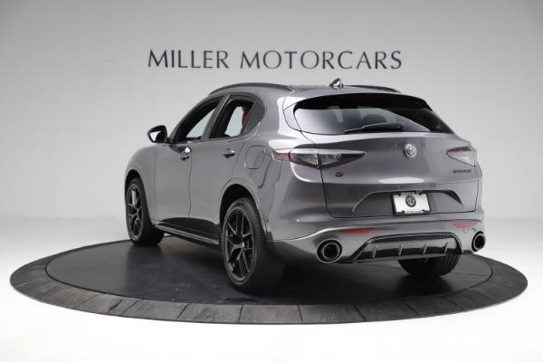 New 2021 Alfa Romeo Stelvio Ti Sport Q4 for sale $56,150 at Pagani of Greenwich in Greenwich CT 06830 5