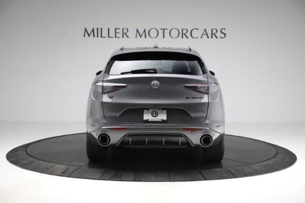 New 2021 Alfa Romeo Stelvio Ti Sport Q4 for sale $56,150 at Pagani of Greenwich in Greenwich CT 06830 6