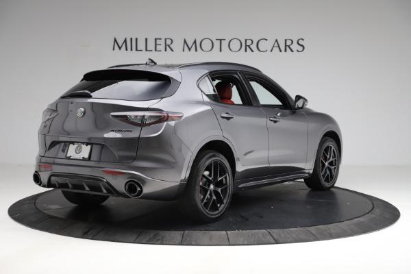 New 2021 Alfa Romeo Stelvio Ti Sport Q4 for sale $56,150 at Pagani of Greenwich in Greenwich CT 06830 7