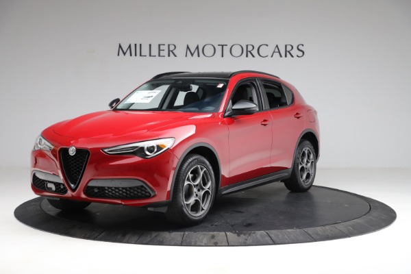 New 2021 Alfa Romeo Stelvio Q4 for sale $49,935 at Pagani of Greenwich in Greenwich CT 06830 2