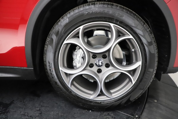 New 2021 Alfa Romeo Stelvio Q4 for sale $50,535 at Pagani of Greenwich in Greenwich CT 06830 28