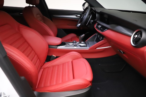 New 2021 Alfa Romeo Stelvio Ti Sport Q4 for sale Sold at Pagani of Greenwich in Greenwich CT 06830 24