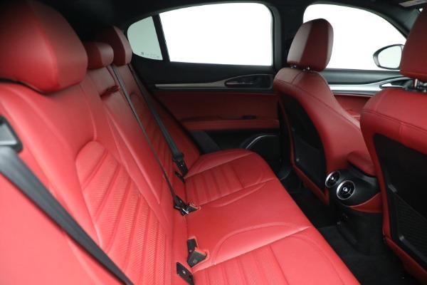 New 2021 Alfa Romeo Stelvio Ti Sport Q4 for sale Sold at Pagani of Greenwich in Greenwich CT 06830 25