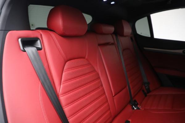 New 2021 Alfa Romeo Stelvio Ti Sport Q4 for sale Sold at Pagani of Greenwich in Greenwich CT 06830 26