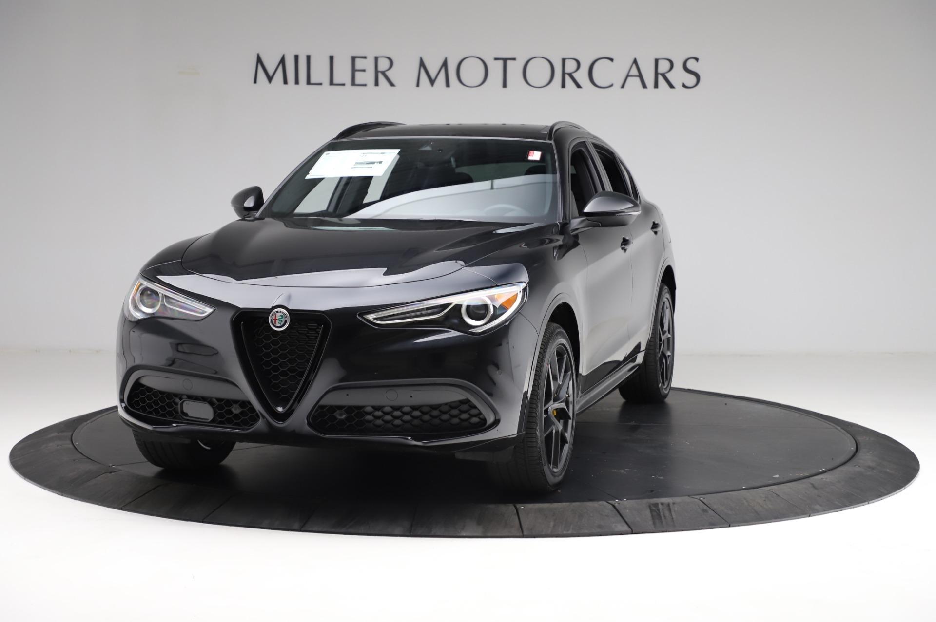 New 2021 Alfa Romeo Stelvio Ti Sport Q4 for sale Sold at Pagani of Greenwich in Greenwich CT 06830 1