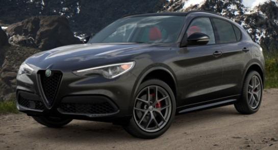 New 2021 Alfa Romeo Stelvio Ti Sport for sale $55,950 at Pagani of Greenwich in Greenwich CT 06830 1