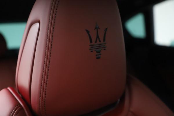 New 2021 Maserati Levante S Q4 GranSport for sale $105,835 at Pagani of Greenwich in Greenwich CT 06830 23