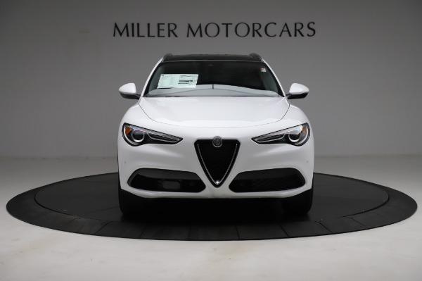 New 2021 Alfa Romeo Stelvio Q4 for sale $49,785 at Pagani of Greenwich in Greenwich CT 06830 13