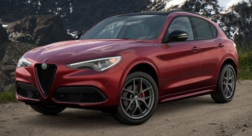 New 2021 Alfa Romeo Stelvio Ti Sport Q4 for sale $61,340 at Pagani of Greenwich in Greenwich CT 06830 1