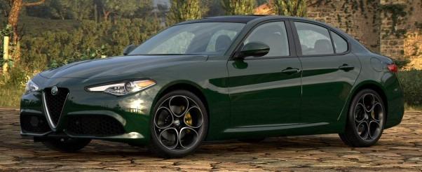 New 2021 Alfa Romeo Giulia Ti Sport Q4 for sale $55,550 at Pagani of Greenwich in Greenwich CT 06830 1