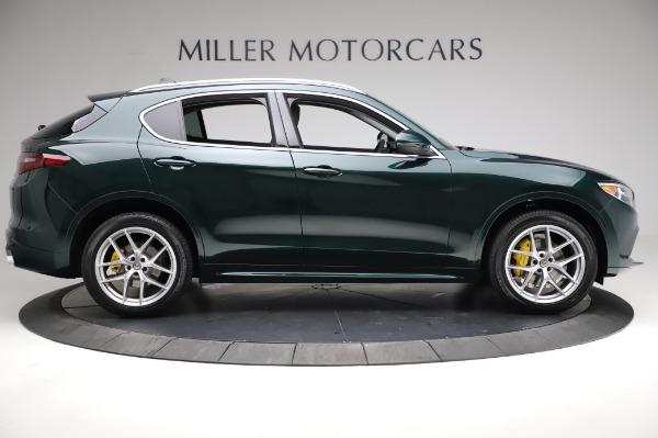 New 2021 Alfa Romeo Stelvio Ti Q4 for sale $54,000 at Pagani of Greenwich in Greenwich CT 06830 10