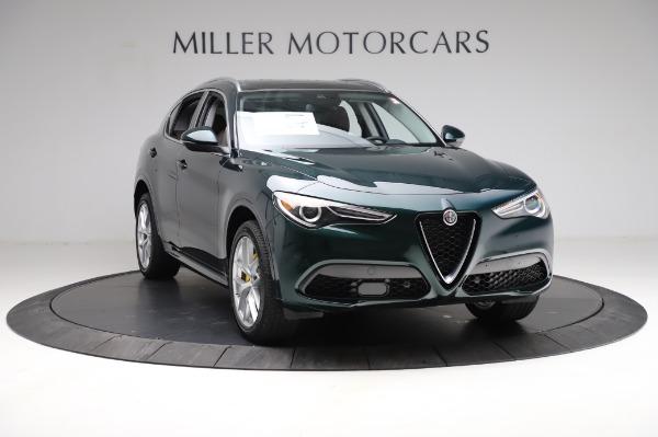 New 2021 Alfa Romeo Stelvio Ti Q4 for sale $54,000 at Pagani of Greenwich in Greenwich CT 06830 12