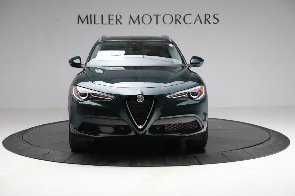 New 2021 Alfa Romeo Stelvio Ti Q4 for sale $54,000 at Pagani of Greenwich in Greenwich CT 06830 13