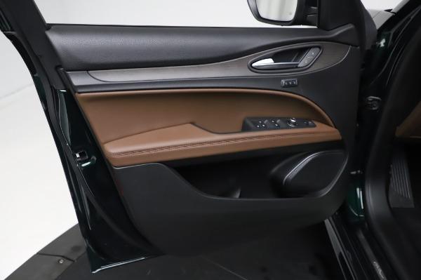 New 2021 Alfa Romeo Stelvio Ti Q4 for sale $54,000 at Pagani of Greenwich in Greenwich CT 06830 18
