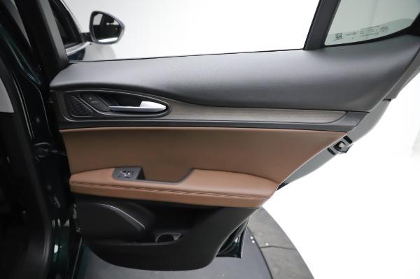 New 2021 Alfa Romeo Stelvio Ti Q4 for sale $54,000 at Pagani of Greenwich in Greenwich CT 06830 26