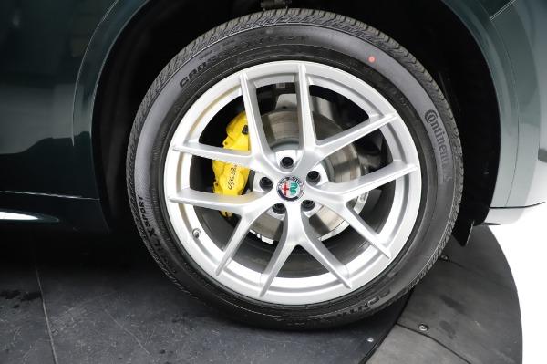 New 2021 Alfa Romeo Stelvio Ti Q4 for sale $54,000 at Pagani of Greenwich in Greenwich CT 06830 27