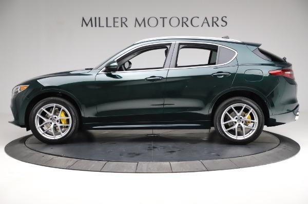 New 2021 Alfa Romeo Stelvio Ti Q4 for sale $54,000 at Pagani of Greenwich in Greenwich CT 06830 3