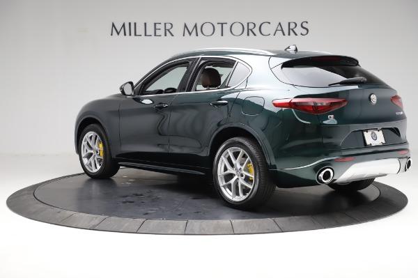 New 2021 Alfa Romeo Stelvio Ti Q4 for sale $54,000 at Pagani of Greenwich in Greenwich CT 06830 4