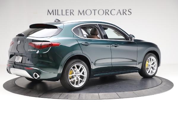 New 2021 Alfa Romeo Stelvio Ti Q4 for sale $54,000 at Pagani of Greenwich in Greenwich CT 06830 8