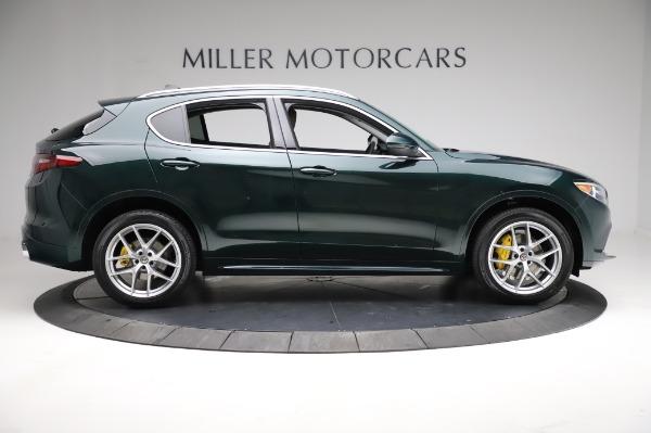 New 2021 Alfa Romeo Stelvio Ti Q4 for sale $54,000 at Pagani of Greenwich in Greenwich CT 06830 9