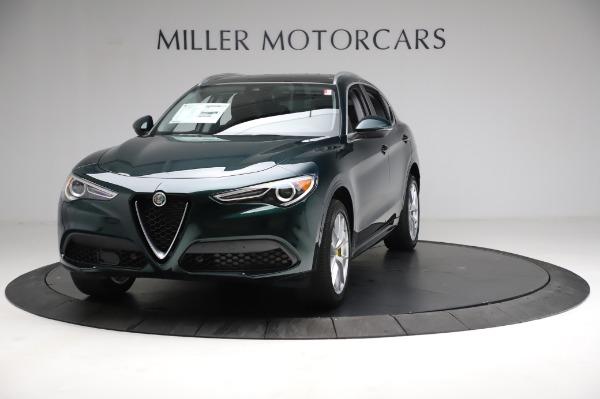 New 2021 Alfa Romeo Stelvio Ti Q4 for sale $53,800 at Pagani of Greenwich in Greenwich CT 06830 1