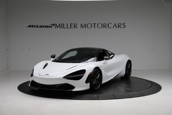 Used 2020 McLaren 720S Spider for sale Sold at Pagani of Greenwich in Greenwich CT 06830 8