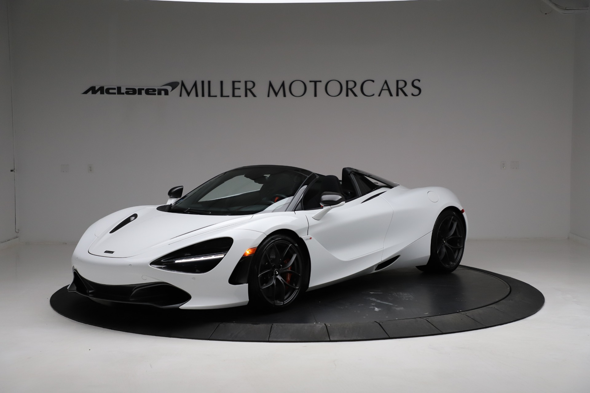 Used 2020 McLaren 720S Spider for sale Sold at Pagani of Greenwich in Greenwich CT 06830 1