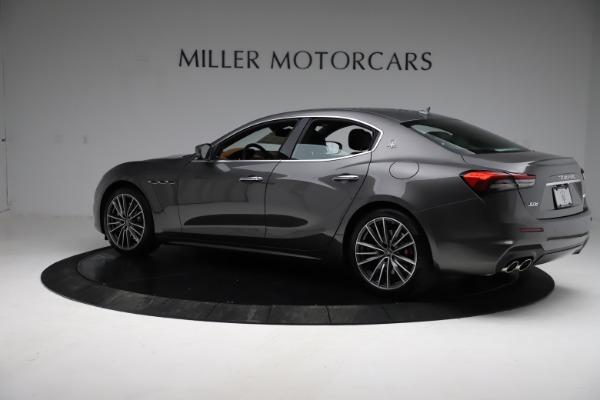New 2021 Maserati Ghibli S Q4 for sale $90,525 at Pagani of Greenwich in Greenwich CT 06830 4