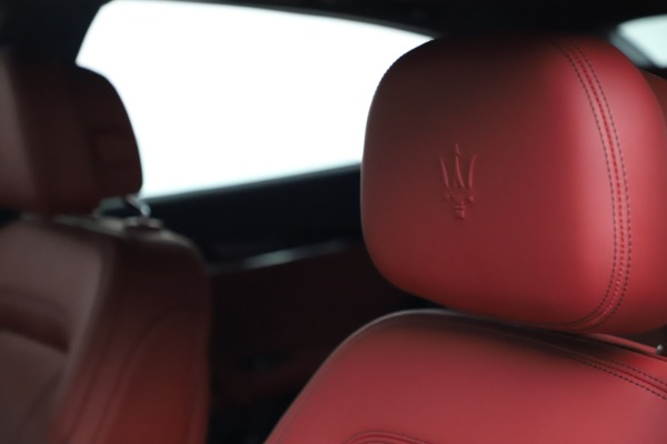 New 2021 Maserati Quattroporte S Q4 GranLusso for sale $122,349 at Pagani of Greenwich in Greenwich CT 06830 15