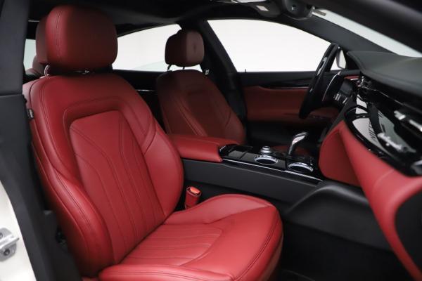 New 2021 Maserati Quattroporte S Q4 GranLusso for sale $122,349 at Pagani of Greenwich in Greenwich CT 06830 26