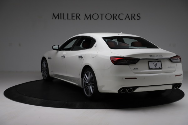New 2021 Maserati Quattroporte S Q4 GranLusso for sale $122,349 at Pagani of Greenwich in Greenwich CT 06830 5