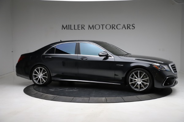 Used 2019 Mercedes-Benz S-Class AMG S 63 for sale $122,900 at Pagani of Greenwich in Greenwich CT 06830 16
