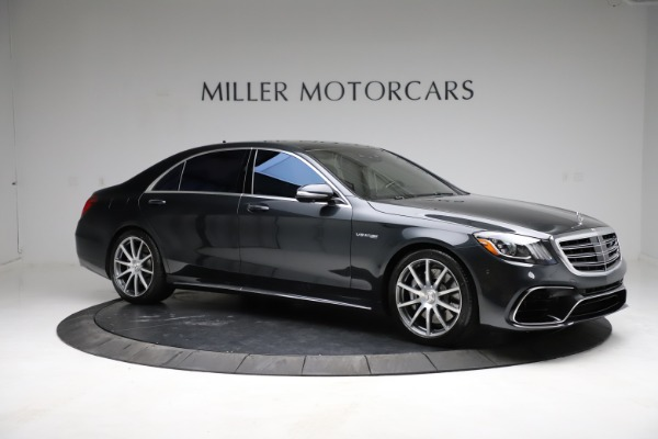 Used 2019 Mercedes-Benz S-Class AMG S 63 for sale $122,900 at Pagani of Greenwich in Greenwich CT 06830 18