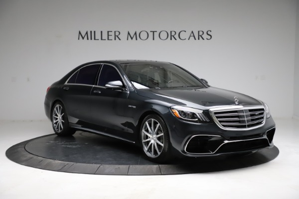 Used 2019 Mercedes-Benz S-Class AMG S 63 for sale $122,900 at Pagani of Greenwich in Greenwich CT 06830 19