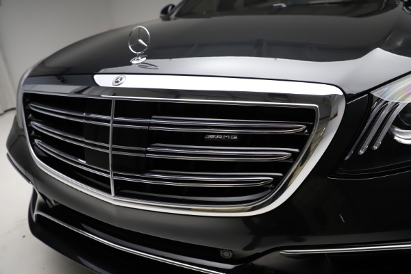 Used 2019 Mercedes-Benz S-Class AMG S 63 for sale $122,900 at Pagani of Greenwich in Greenwich CT 06830 23