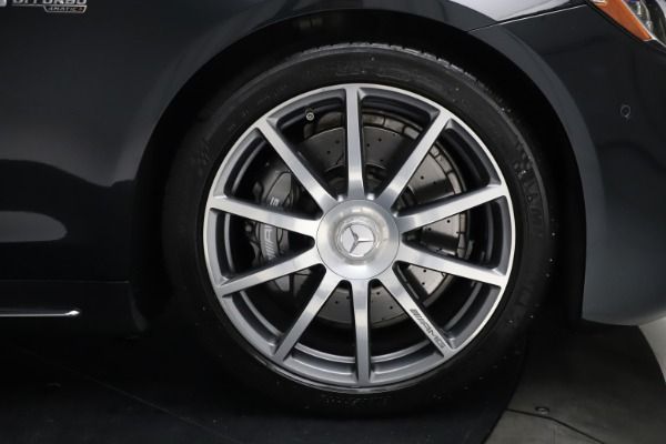Used 2019 Mercedes-Benz S-Class AMG S 63 for sale $122,900 at Pagani of Greenwich in Greenwich CT 06830 26