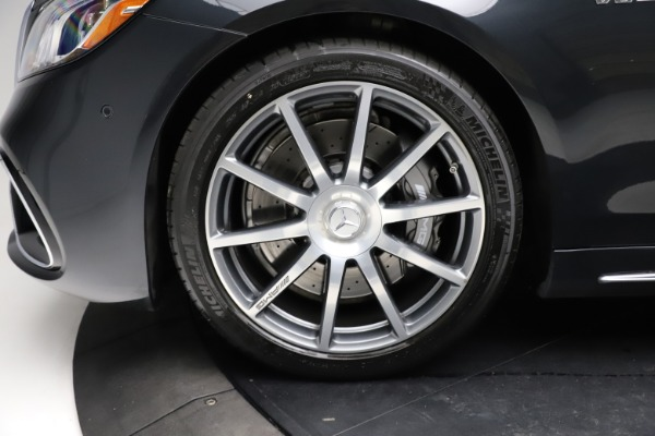 Used 2019 Mercedes-Benz S-Class AMG S 63 for sale $122,900 at Pagani of Greenwich in Greenwich CT 06830 27