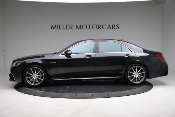 Used 2019 Mercedes-Benz S-Class AMG S 63 for sale $122,900 at Pagani of Greenwich in Greenwich CT 06830 4
