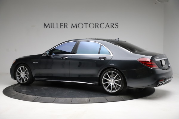 Used 2019 Mercedes-Benz S-Class AMG S 63 for sale $122,900 at Pagani of Greenwich in Greenwich CT 06830 6