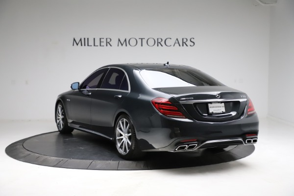 Used 2019 Mercedes-Benz S-Class AMG S 63 for sale $122,900 at Pagani of Greenwich in Greenwich CT 06830 8