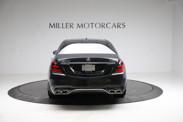 Used 2019 Mercedes-Benz S-Class AMG S 63 for sale $122,900 at Pagani of Greenwich in Greenwich CT 06830 9