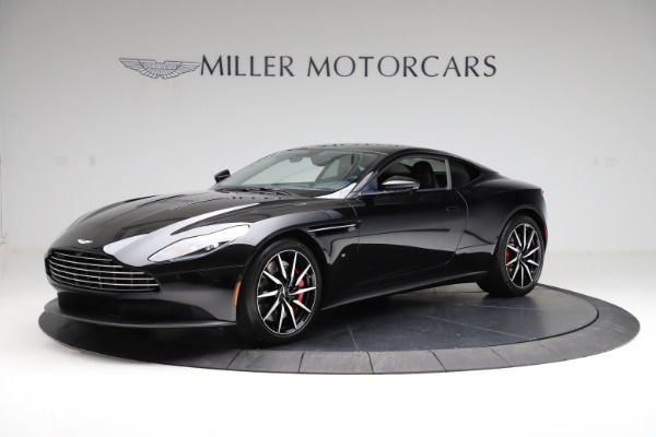 Used 2018 Aston Martin DB11 V12 for sale $159,990 at Pagani of Greenwich in Greenwich CT 06830 1