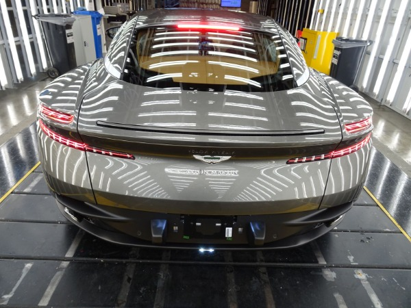 New 2021 Aston Martin DB11 V8 for sale $240,886 at Pagani of Greenwich in Greenwich CT 06830 3