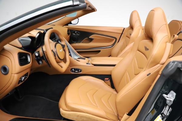 New 2021 Aston Martin DBS Superleggera Volante for sale Sold at Pagani of Greenwich in Greenwich CT 06830 18