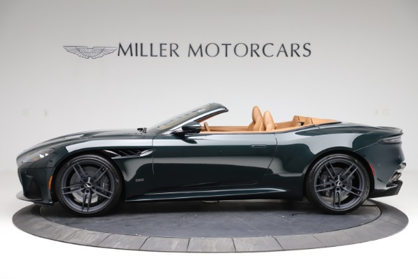 New 2021 Aston Martin DBS Superleggera Volante for sale Sold at Pagani of Greenwich in Greenwich CT 06830 2