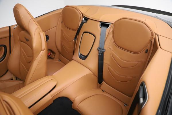 New 2021 Aston Martin DBS Superleggera Volante for sale Sold at Pagani of Greenwich in Greenwich CT 06830 21