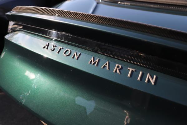 New 2021 Aston Martin DBS Superleggera Volante for sale Sold at Pagani of Greenwich in Greenwich CT 06830 28